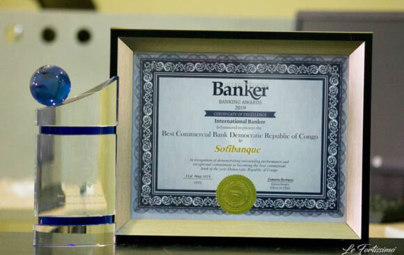 INTERNATIONAL BANKER récompense la SOFIBANQUE, lors du INTERNATIONAL BANKER AWARDS 2019