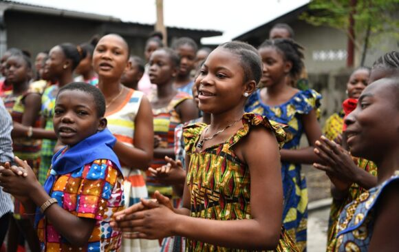 Les activités d'AMADE Internationale poursuivies en 2018 en RDC, avec l'appui de la SOFIBANQUE