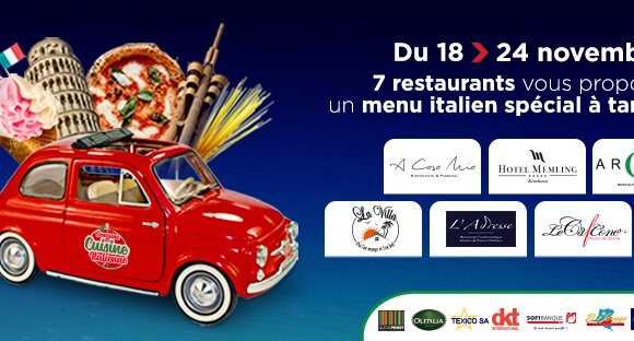 Sofibanque, partenaire de la Semaine de la Cuisine Italienne à Kinshasa