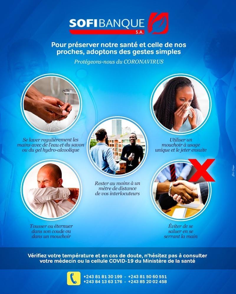 Pour notre santé, adoptons des gestes simples!