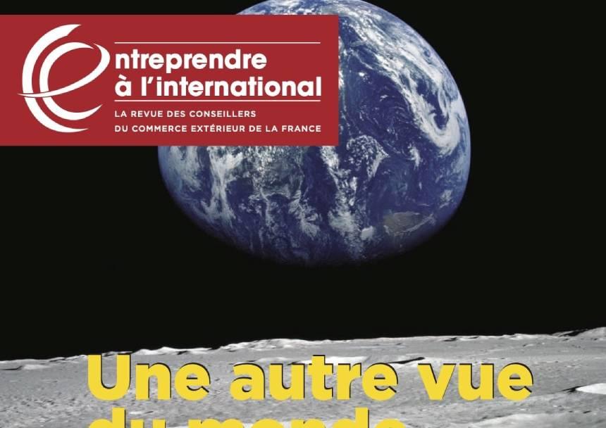 PUBLI REPORTAGE DANS LA REVUE DES CONSEILLERS DU COMMERCE EXTERIEUR DE LA FRANCE (SPECIAL PERSPECTIVES 2019)